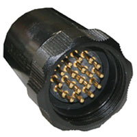Socapex 19pin Inline Male Connector SLDFMD419AR