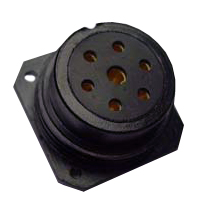 Socapex 7pin Inline Female Connector SLD FF 37Y