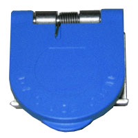 Snap Panel Mount Cover Blue