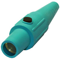 Cam 4/0 Connector Female Green