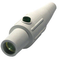 Cam 4/0 Connector Female White