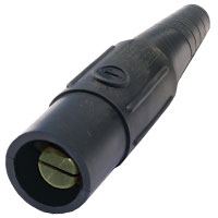 Cam 4/0 Connector Male Black
