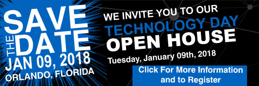 Save The Date, January 9, 2018, for Technology Day at Techni-Lux