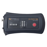 Wireless DMX Micro F-1 Lite G4 Indoor Transceiver - 1 universe, battery operated