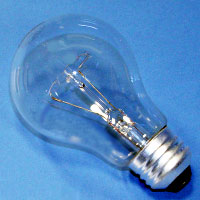A19 75w 130v Clear MedScr Lamp