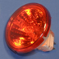 Flame 20w 12v Orange MR11 G4 Lamp