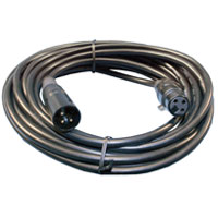 Cable XLR 3pin Male to Female 10' UL2969