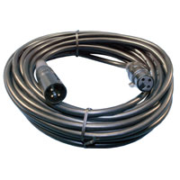 Cable XLR 3pin Male to Female 25' UL2969