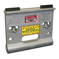Alumalok Airwall Track Hanger rated at 750Lbs UDL