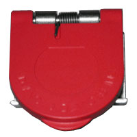 Snap Panel Mount Cover Red