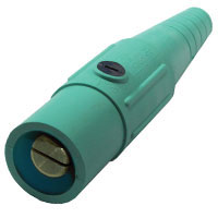 Cam #6-#2 Connector Male Green