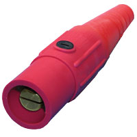 Cam 4/0 Connector Male Red