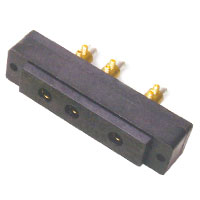 Stage 3-Pin Bates 60A 125v Female Panel Mount