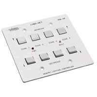 400CP Remote Memory Control Panel wall station with Selectable control zones, 2 gang box