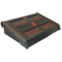 Red DMX Extension Wing w/12 faders & 36 buttons