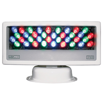 LEDpanel 36 Color RGB LED - 15deg - IP65, 100-265vAC UL/CE, DMX - White