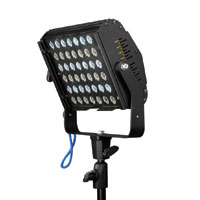 Studio LED 48w, 48x1W LEDs White 6000k, Manual & DMX control dimmer, 45 degree lenses, frame holder included  -  110-240vAC, no plug