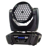 SGM IDEA MOVING LED 100 with 60 RGBW 3w LEDS & DMX, 100-240vAC