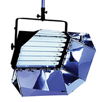 Softlight 6x55w with DMX/Local dimming 120v-230v w/intensifier - for use F55BXCIN32 or 56 lamps - no plug