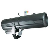 Followspot Moon 575w, CYM colors, blackout & iris, w/HMI575W/GS - 120v 60Hz, no plug