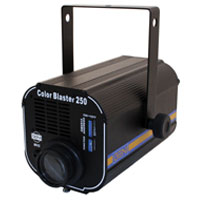 Color Changer 250w - 10 Colors + Open, Dimmer - DMX 120v w/ELC