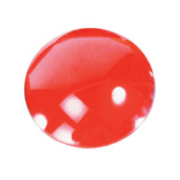 Lens Plastic Par36Color Red