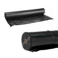 Polyethylene 4 mil 20x100ft Roll - Black