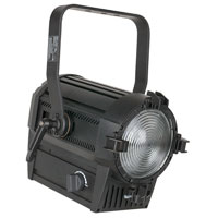 Performer Fresnel 1000, LED 3200k, 10-60degree, DMX 3&5pin, Black