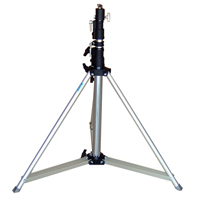 Tripod for followspot with mounting spigot included - Silver