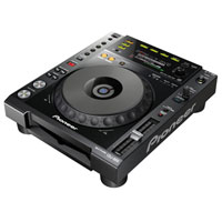 PIONEER:CDJ-850-K -- PRO DIGITAL MEDIA PLAYER w/REKORDBOX SOFTWARE