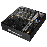 PIONEER:DJM-750-K -- PRO DJ MIXER - 4 Channel with Boost (Black)