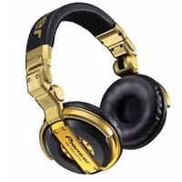 PIONEER:HDJ-1000-G -- DJ Headphones (gold)