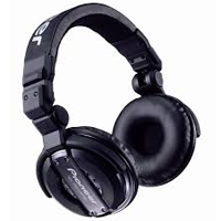 PIONEER:HDJ-1000-K -- DJ Headphones (black)