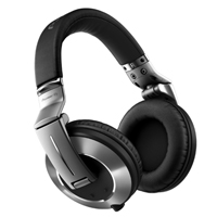 PIONEER:HDJ-2000MK2-S -- Flagship Professional DJ Headphones (silver) - included coiled and straight cords, durable, ergonomic headband design