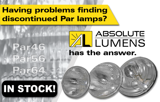 get Par 46, 56 or 64 by Absolute Lumens banner