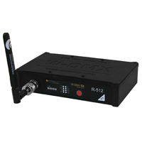 Wireless DMX R-512 Blackbox Indoor Receiver Standard - 1 universe