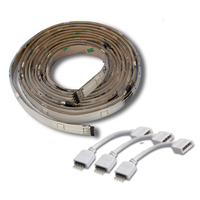 Mosaic LED Flexible Light Strips Expansion - 5 x 2ft sections and bendable connectors