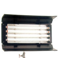 PowerFlo 4x20w with DMX/Local dimming 120v-230v - for use F20T12CIN32 or 55 lamps, no plug
