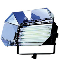 Softlight 4x55w with DMX/Local dimming 120v-230v w/intensifier - for use F55BXCIN32 or 56 lamps - no plug