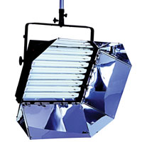 Softlight 8x55w with DMX/Local dimming 120v-230v w/intensifier - no plug