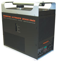 Ultimate 2000 Oil Hazer - with DMX - 120v Swefog