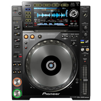 PIONEER:CDJ-2000NXS -- FLAGSHIP PRO OMNI PLAYER w/REKORDBOX SOFTWARE