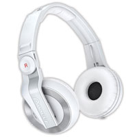 PIONEER:HDJ-500-W -- DJ HEADPHONES (white)