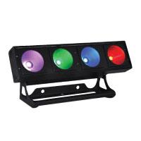 UltraLED Quadbar 4 x 30w COB RGB (3in1) - Black