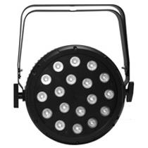 UltraLux 18 LED - 6in1 RGBWAUV - w/frame, Black