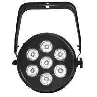 UltraLux 7 LED - 6in1 RGBWAUV - w/frame, Black
